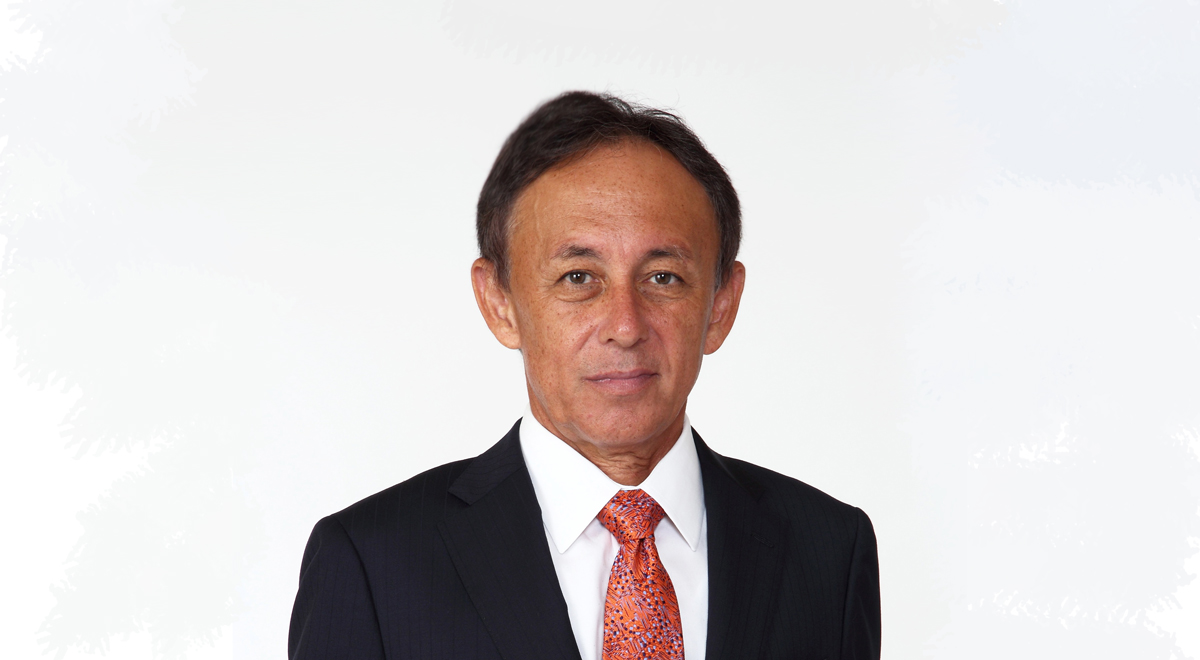 Denny Tamaki The Governor of Okinawa